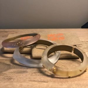 Alexis Bittar bangles (set of 3)